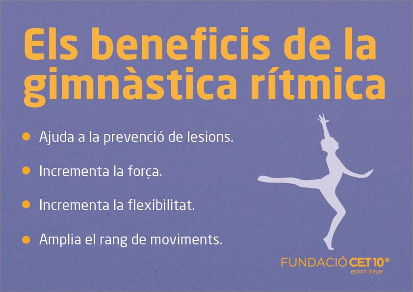 Seccions esportives gimnastica ritmica Fundació CET10