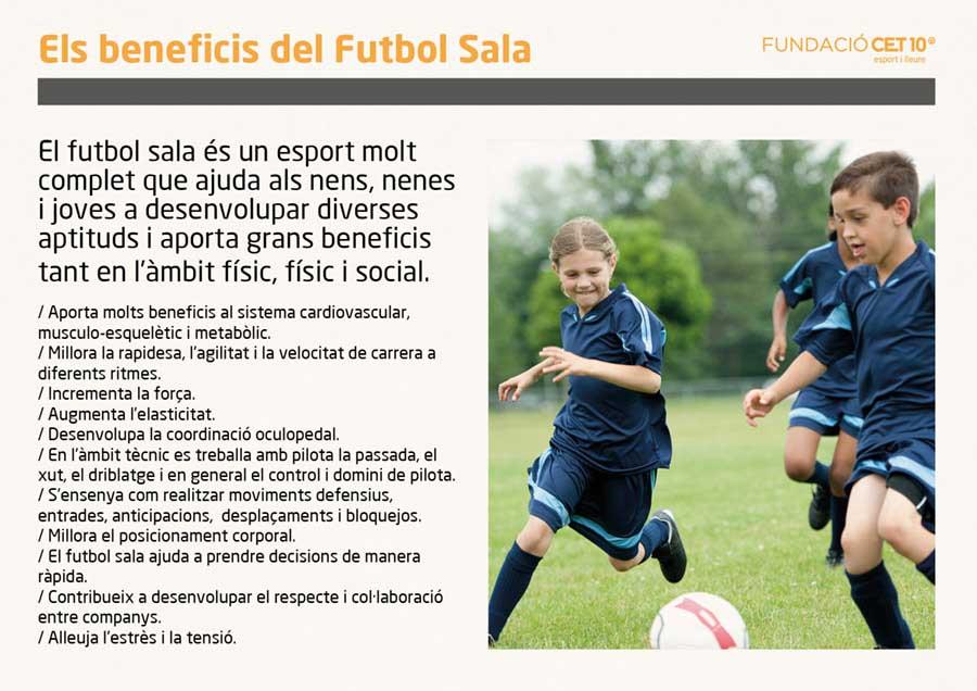 Futbol femeni - els beneficis del futbol sala