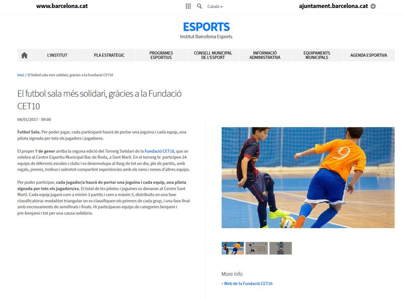 Torneig Solidari Institut Barcelona Esports