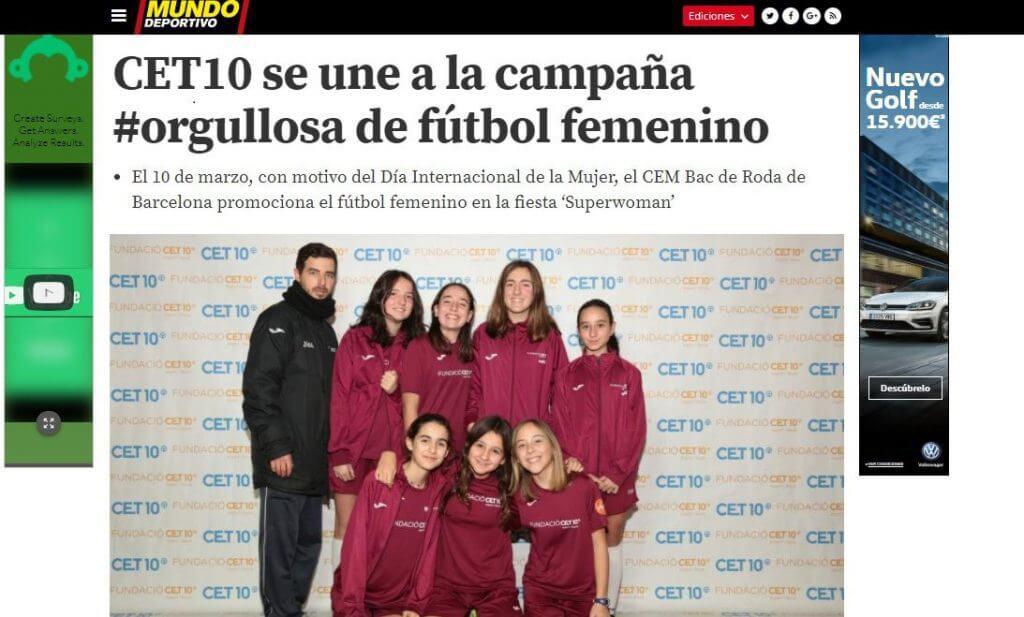 CET10 Orgullosa